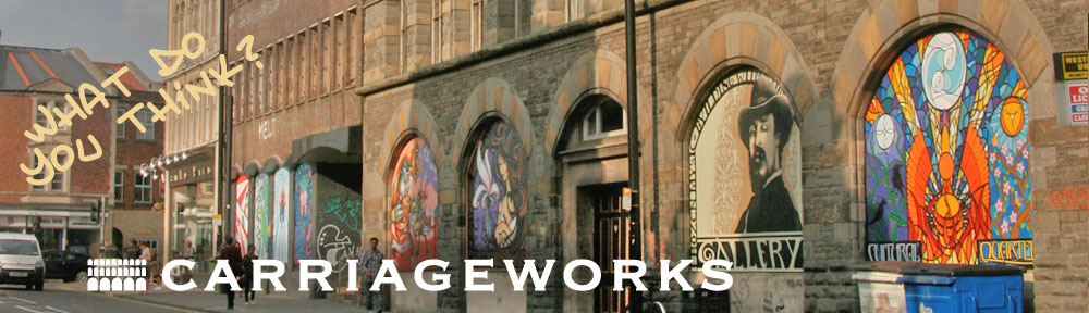 Carriageworks & Westmorland House, Stokes Croft, Bristol