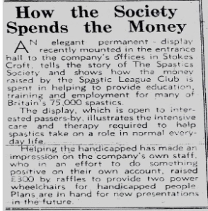 Bristol Evening Post, September 1967