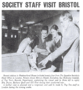 """From """"Westmorland House"""" - in-house magazine, OCtober 1975"""