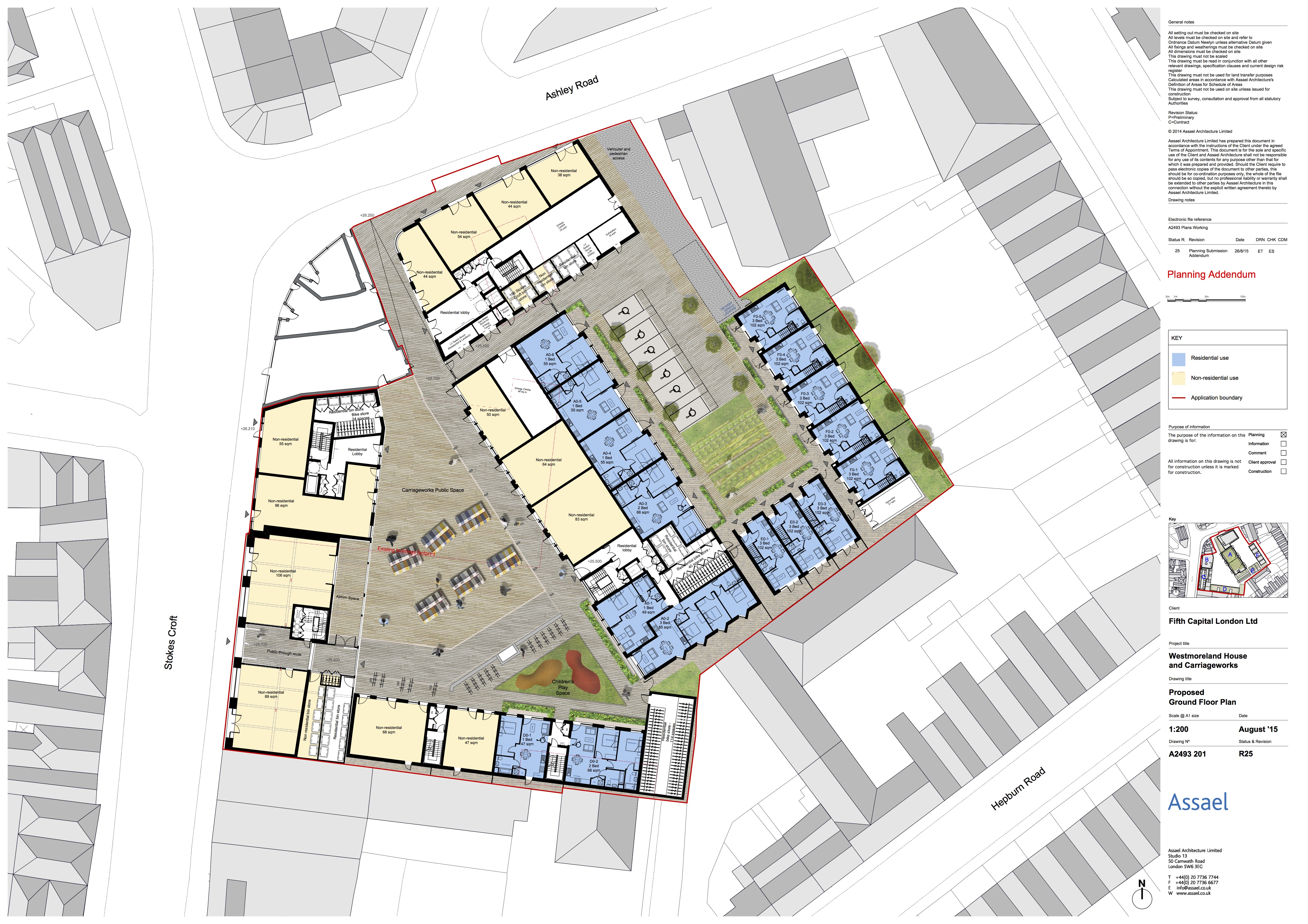 Scheme With Planning Permission Carriageworks Westmoreland House