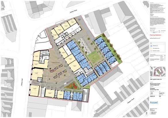 Ground Floor Plans, Aug 2015