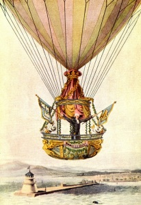 Sadler's balloon flight