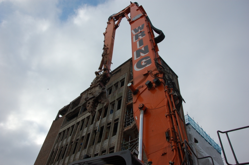 Demolition of Westmorland House