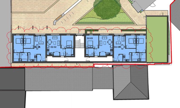 Carriageworks Block D floor plan